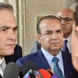 Se reúnen Navarrete Prida y Mancera para abordar tema de salario mínimo